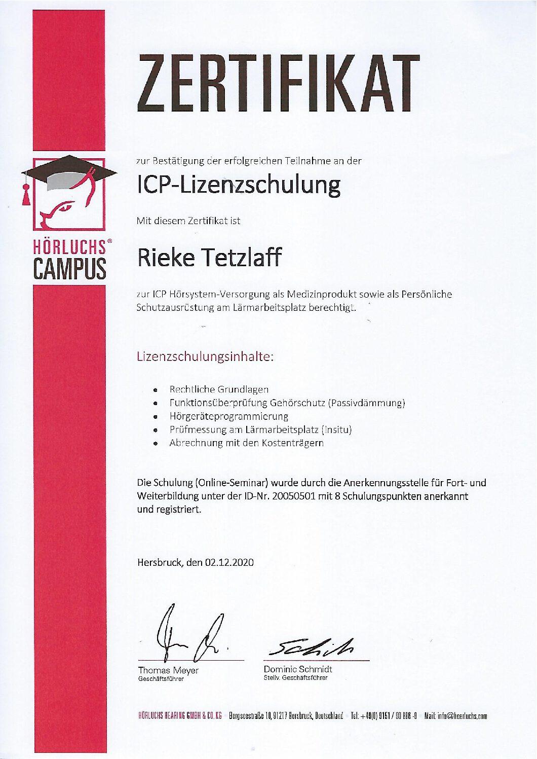 Hörluchs ICP Partner